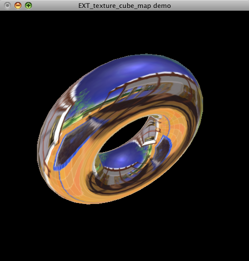 OpenGL cube map example on Mac OS X « Alec's Web Log